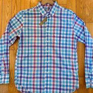 New JCrew Secret Wash Lightweight Slim Fit Shirt L
